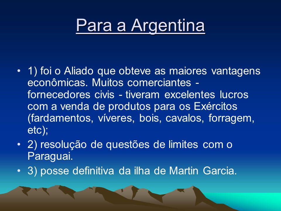 Para a Argentina