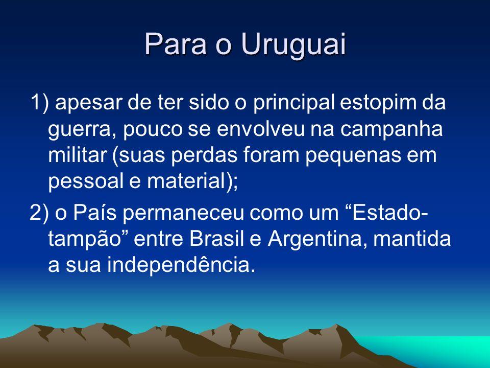 Para o Uruguai