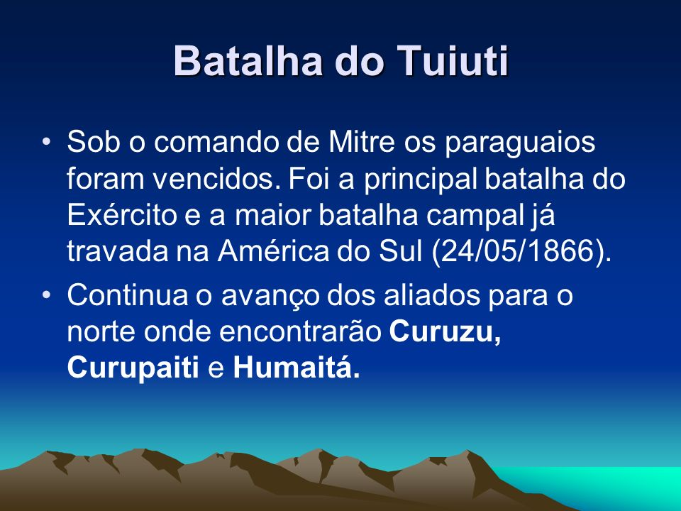 Batalha do Tuiuti