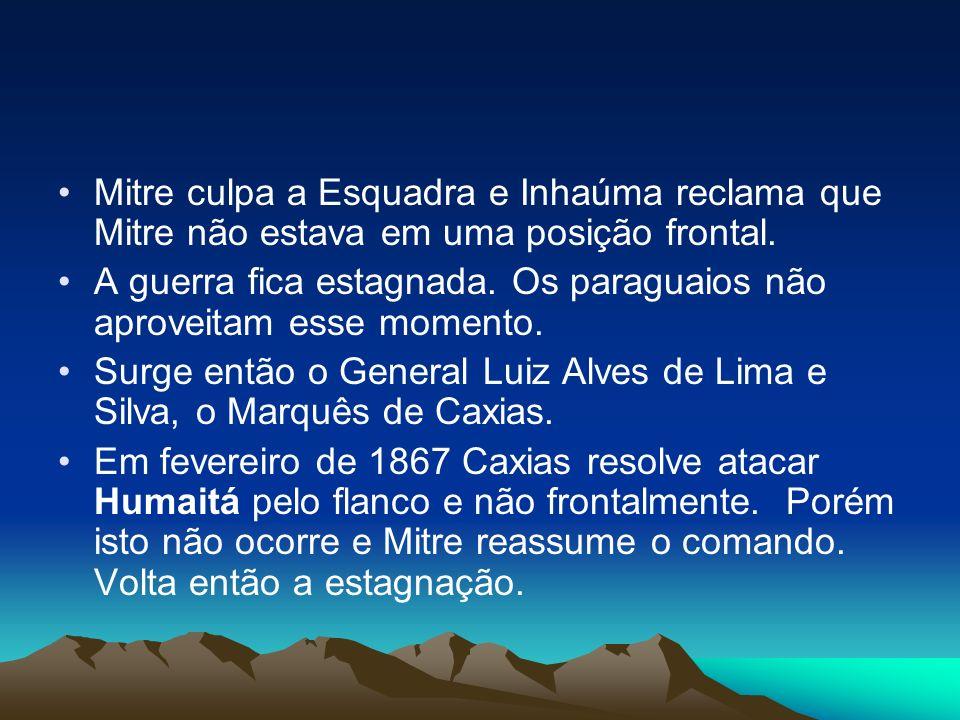 Mitre culpa a Esquadra e Inhaúma reclama que Mitre não estava em uma posição frontal.