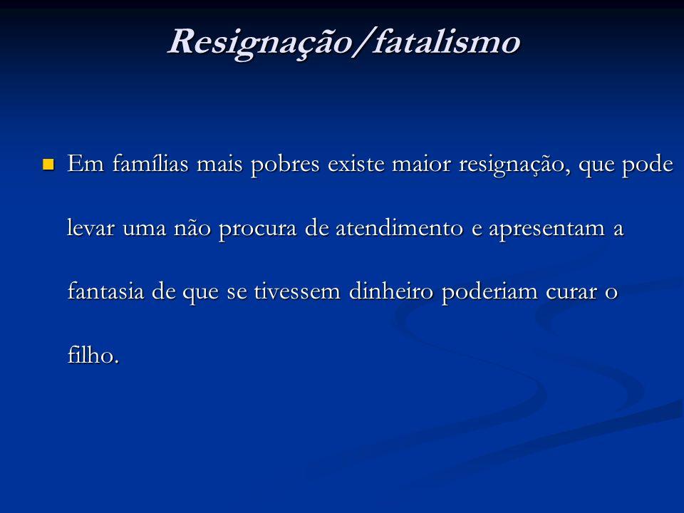 Resignação/fatalismo
