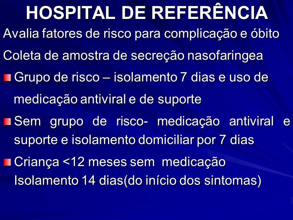 HOSPITAL DE REFERÊNCIA