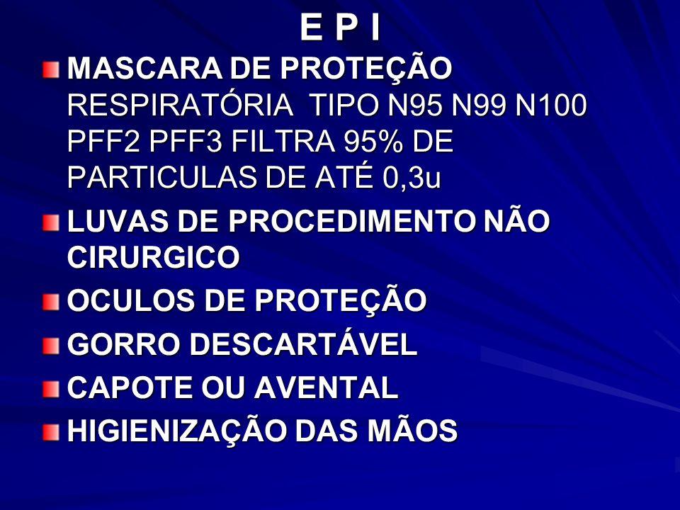 E P IMASCARA DE PROTEÇÃO RESPIRATÓRIA TIPO N95 N99 N100 PFF2 PFF3 FILTRA 95% DE PARTICULAS DE ATÉ 0,3u.