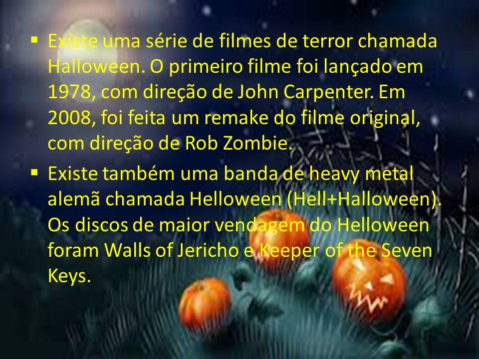 """A palavra Halloween vem """"all hallows eve"""", que em português ..."""