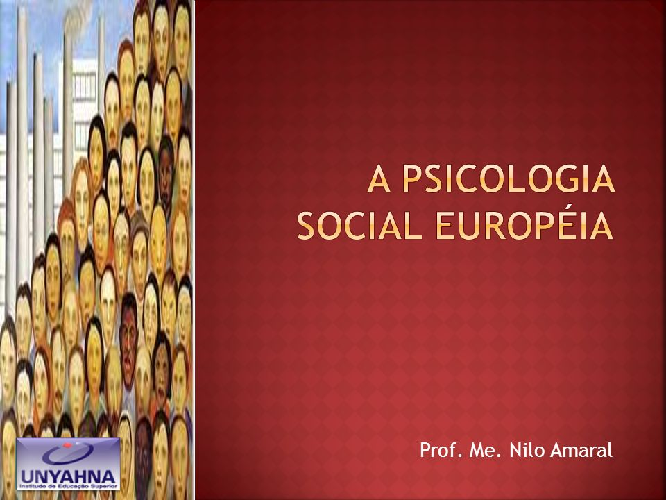 A psicologia social européia