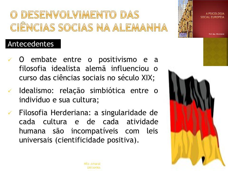 O DESENVOLVIMENTO DAS CIÊNCIAS SOCIAS NA Alemanha