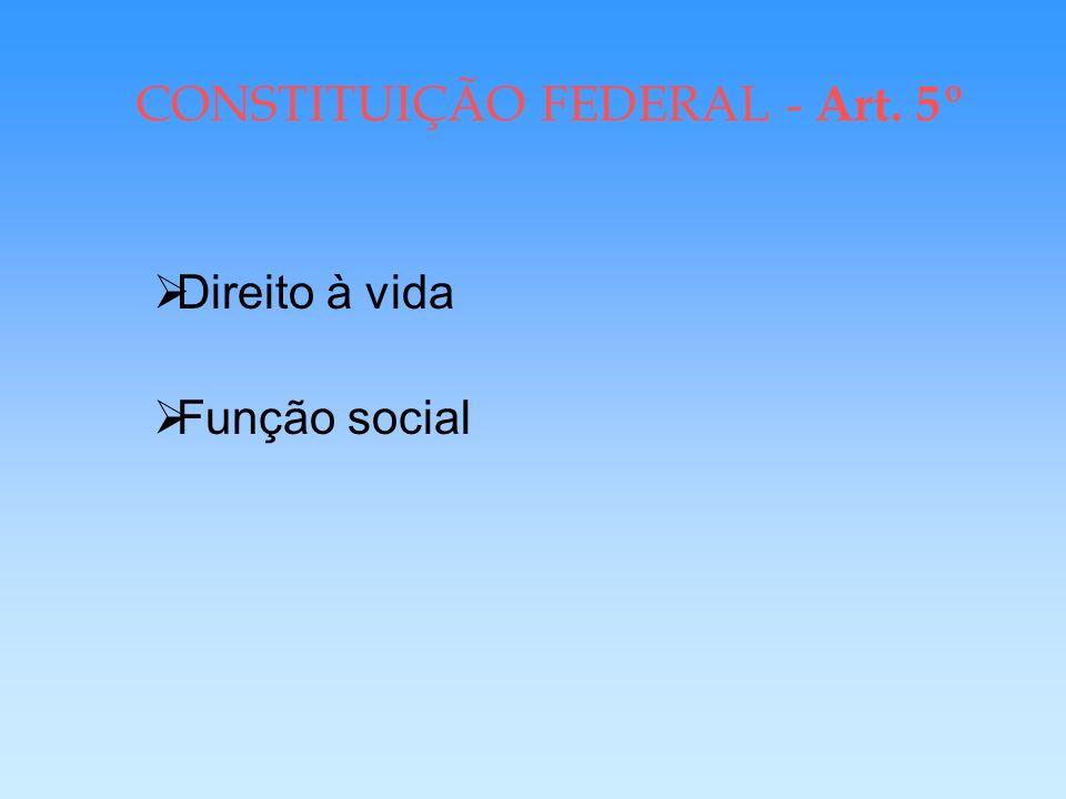 CONSTITUIÇÃO FEDERAL - Art. 5º