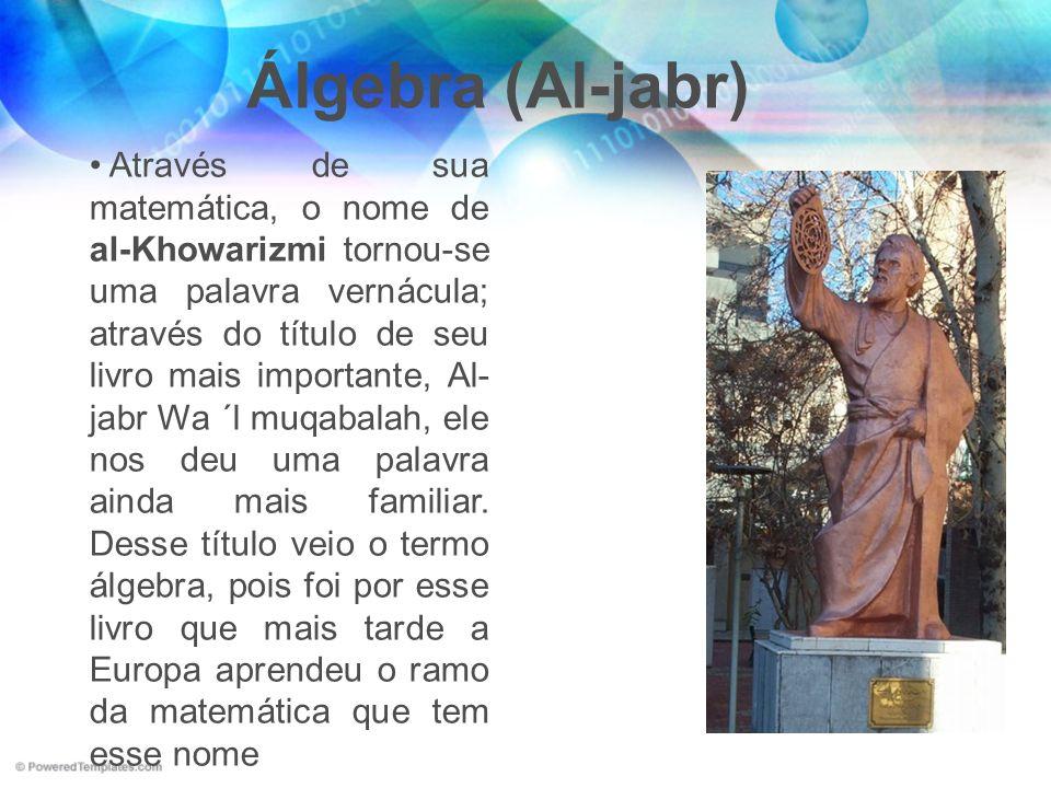 Álgebra (Al-jabr)