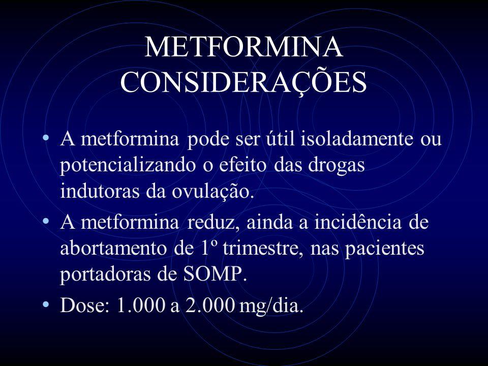 METFORMINA CONSIDERAÇÕES