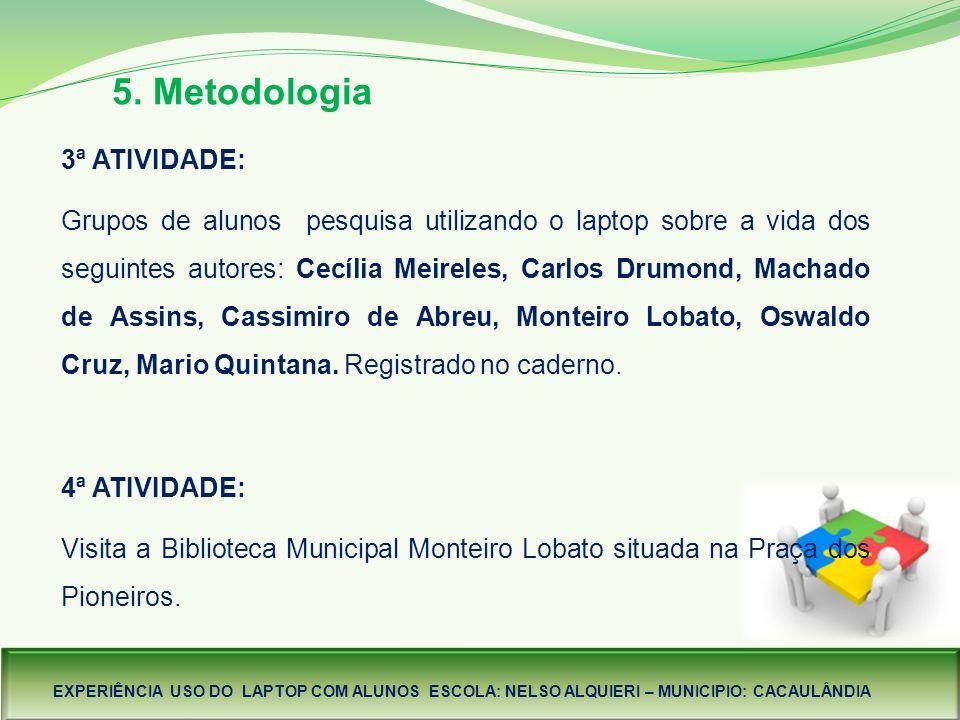 5. Metodologia.