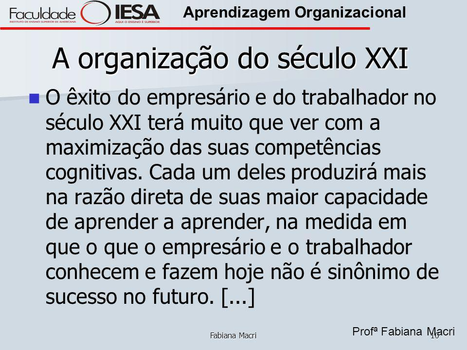 A organização do século XXI