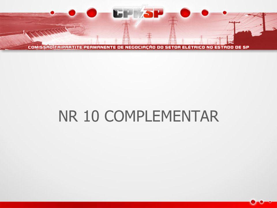 NR 10 COMPLEMENTAR