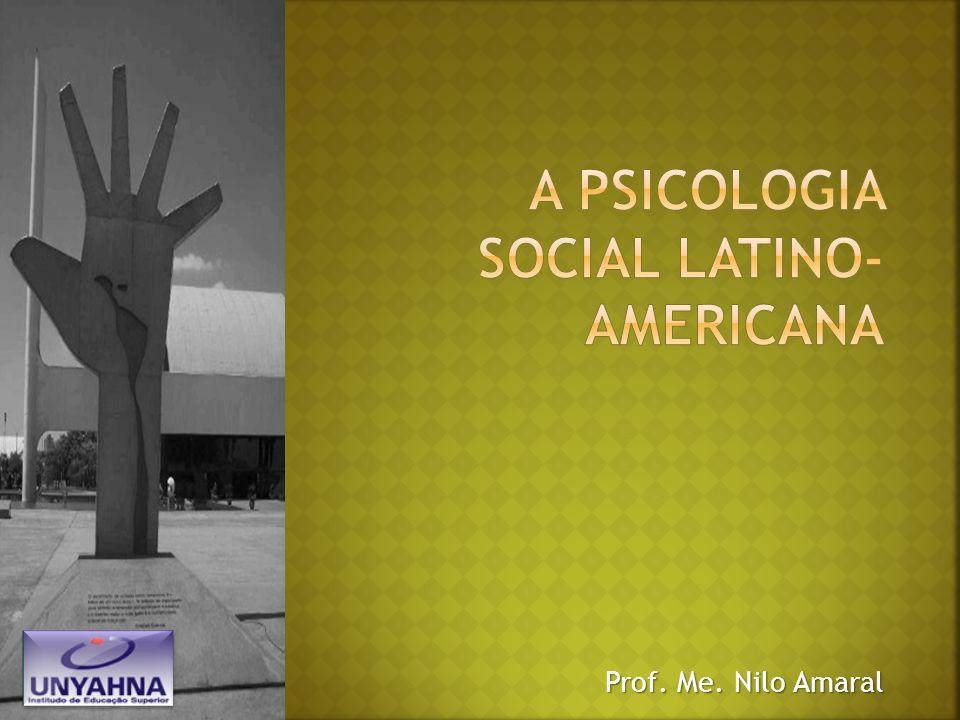 A psicologia social latino-americana