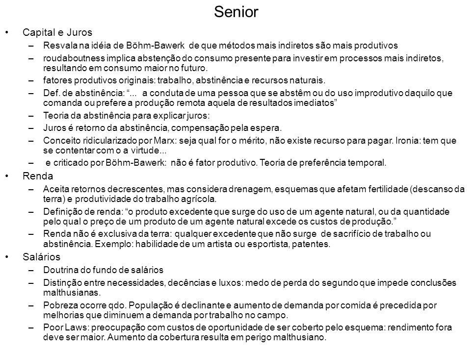Senior Capital e Juros Renda Salários