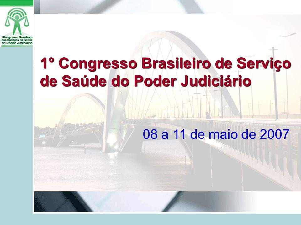 1° Congresso Brasileiro de Serviço de Saúde do Poder Judiciário