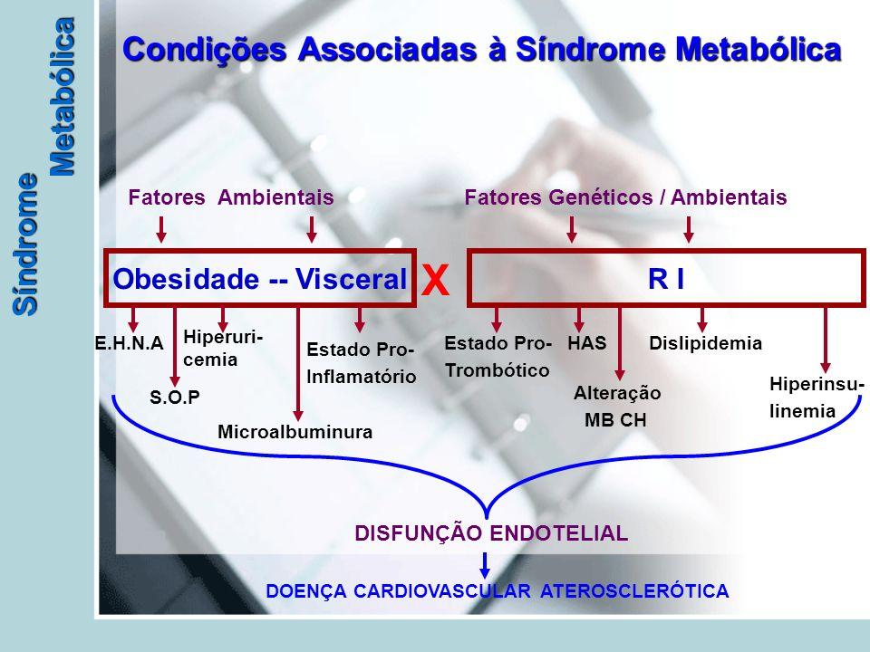 Condições Associadas à Síndrome Metabólica