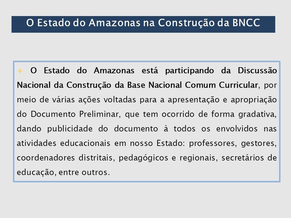 O Estado do Amazonas na Construção da BNCC