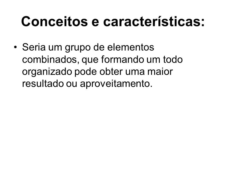 Conceitos e características: