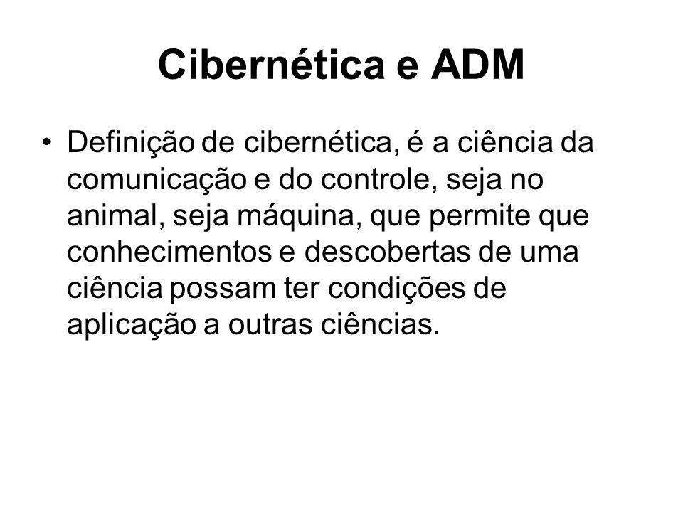 Cibernética e ADM