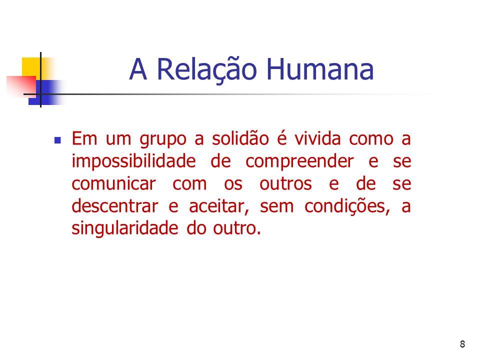 A Relação Humana