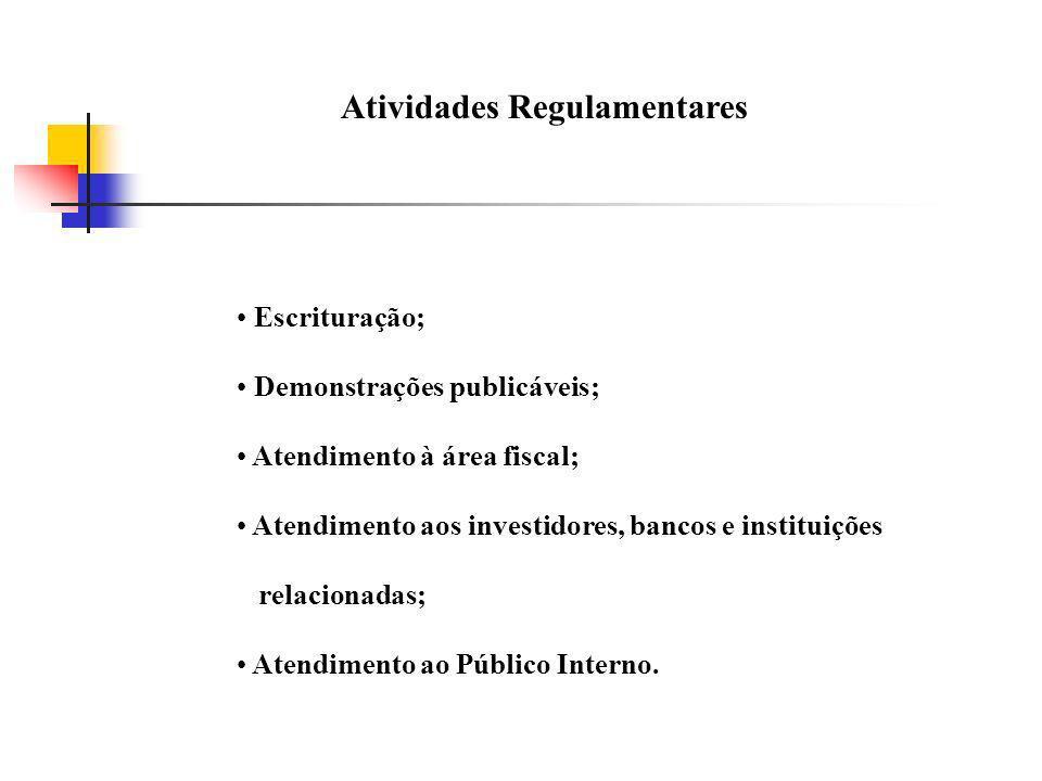 Atividades Regulamentares