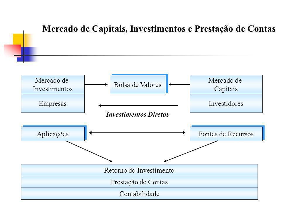 Mercado de Capitais, Investimentos e Prestação de Contas