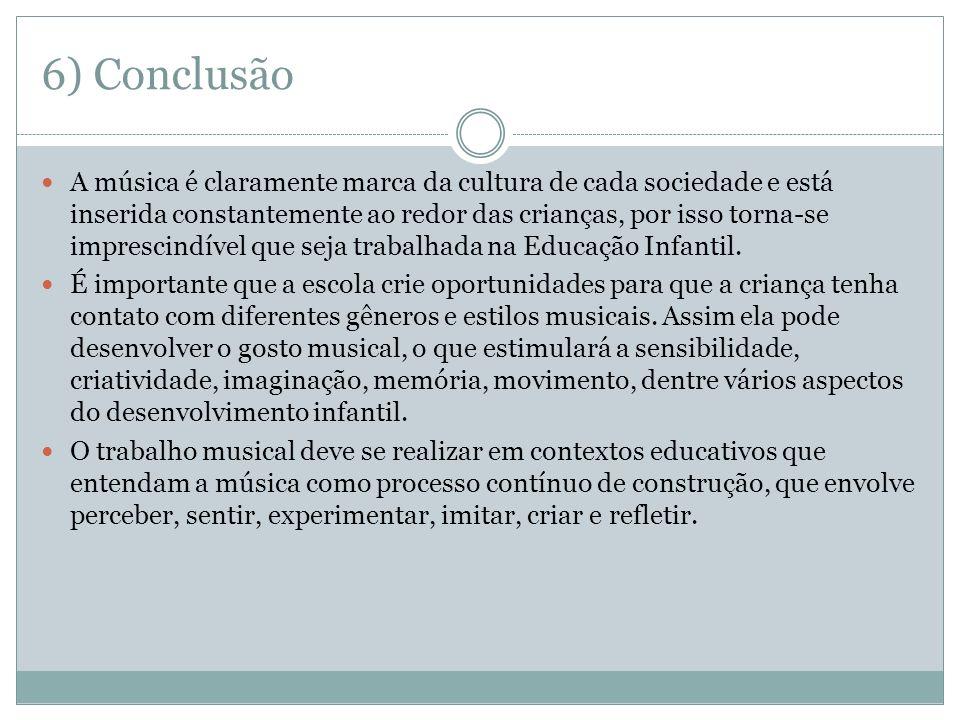6) Conclusão