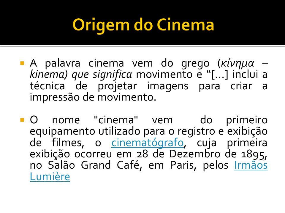 Origem do Cinema