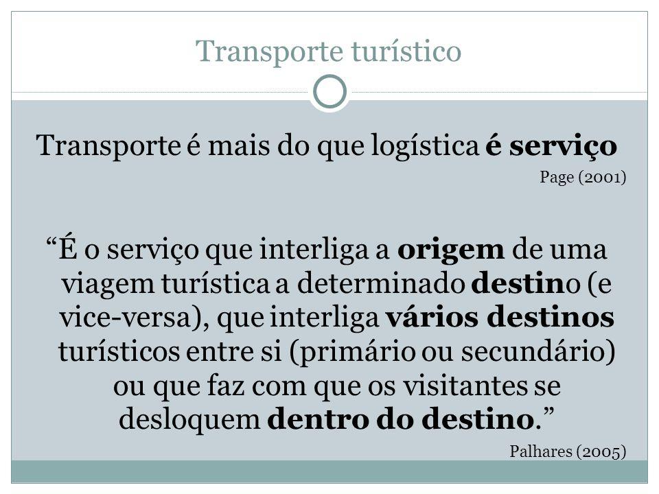 Transporte é mais do que logística é serviço