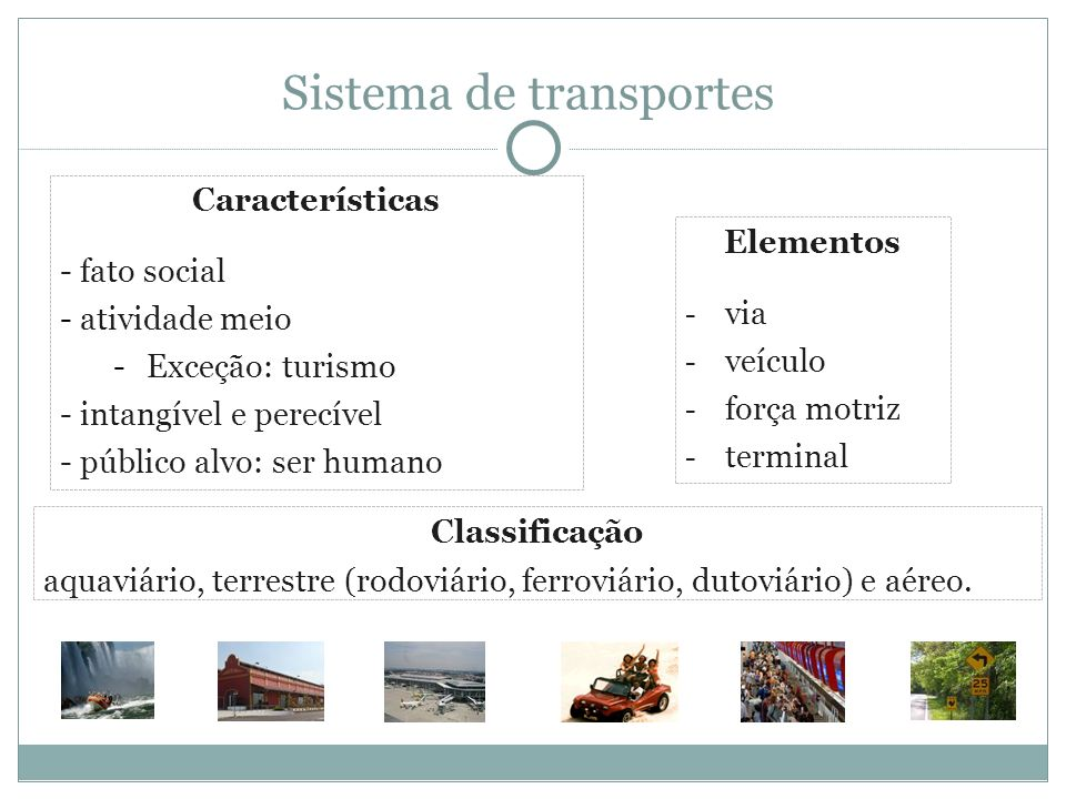 Sistema de transportes