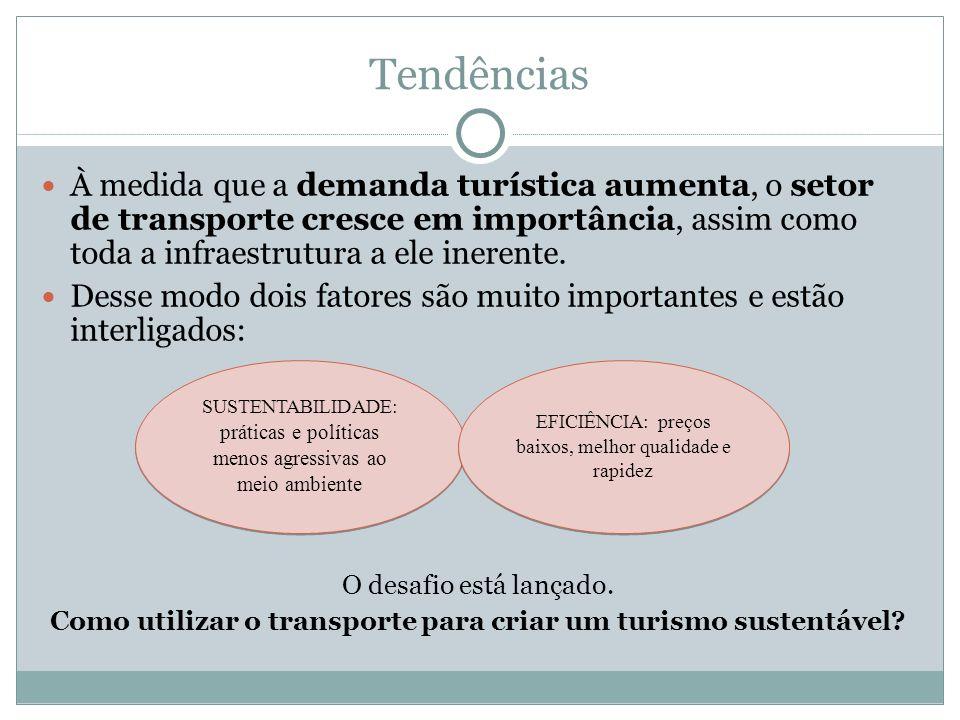 Como utilizar o transporte para criar um turismo sustentável