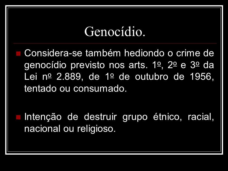 Genocídio.