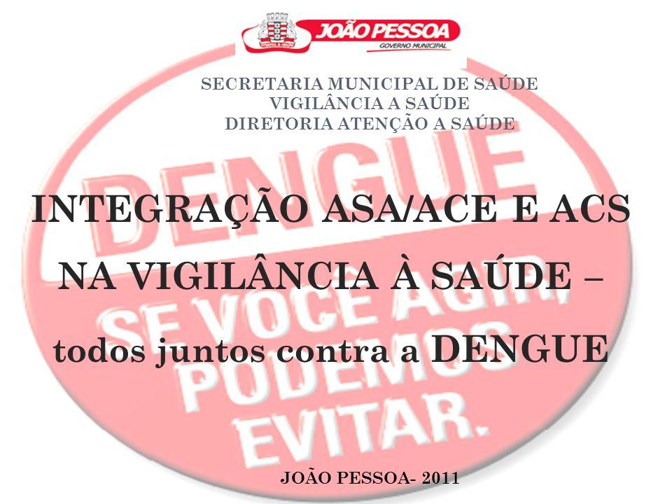 INTEGRAÇÃO ASA/ACE E ACS NA VIGILÂNCIA À SAÚDE –