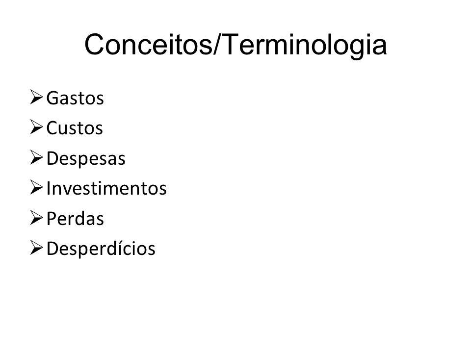 Conceitos/Terminologia