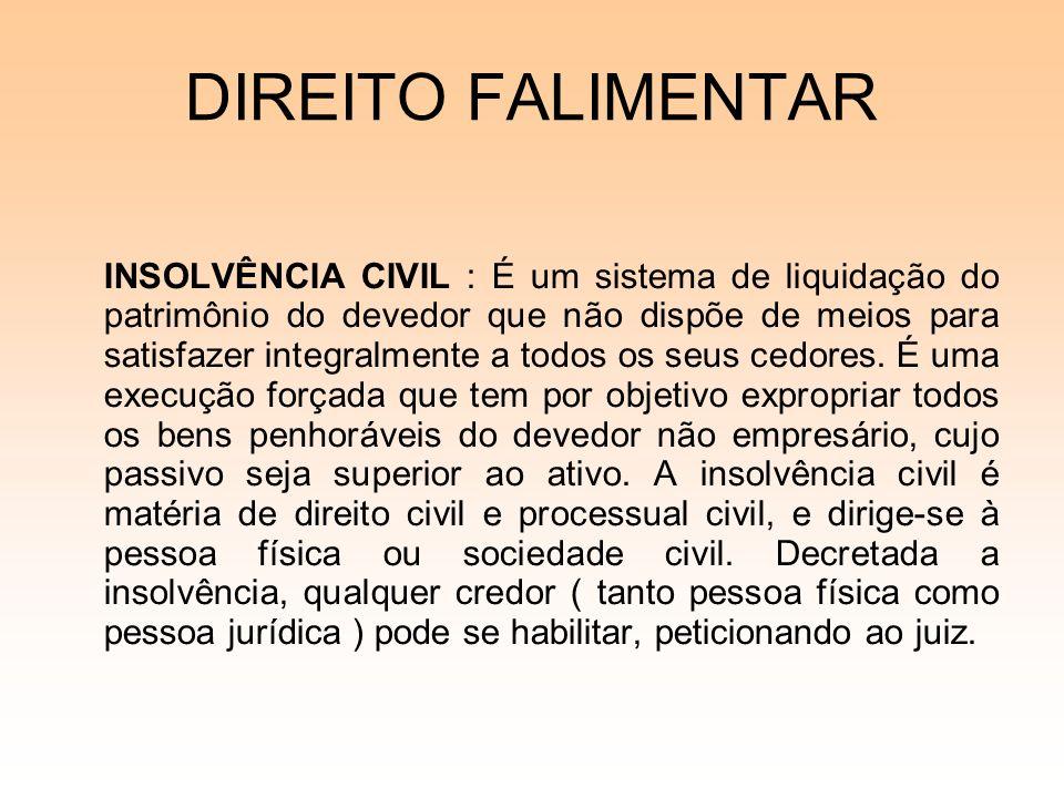 08/12/06 DIREITO FALIMENTAR.