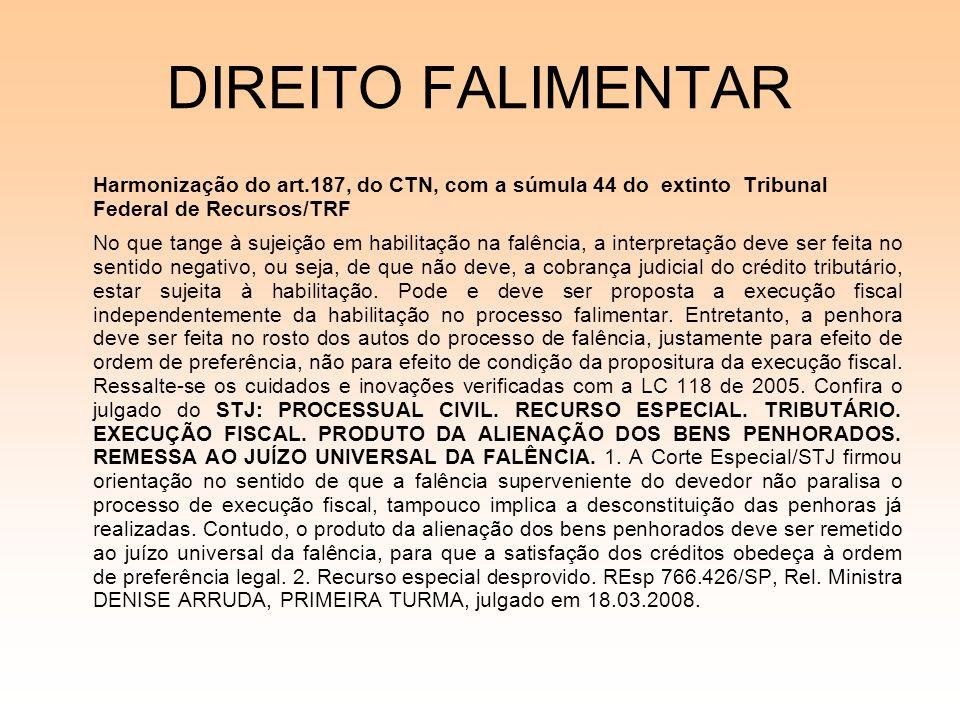 08/12/06DIREITO FALIMENTAR.