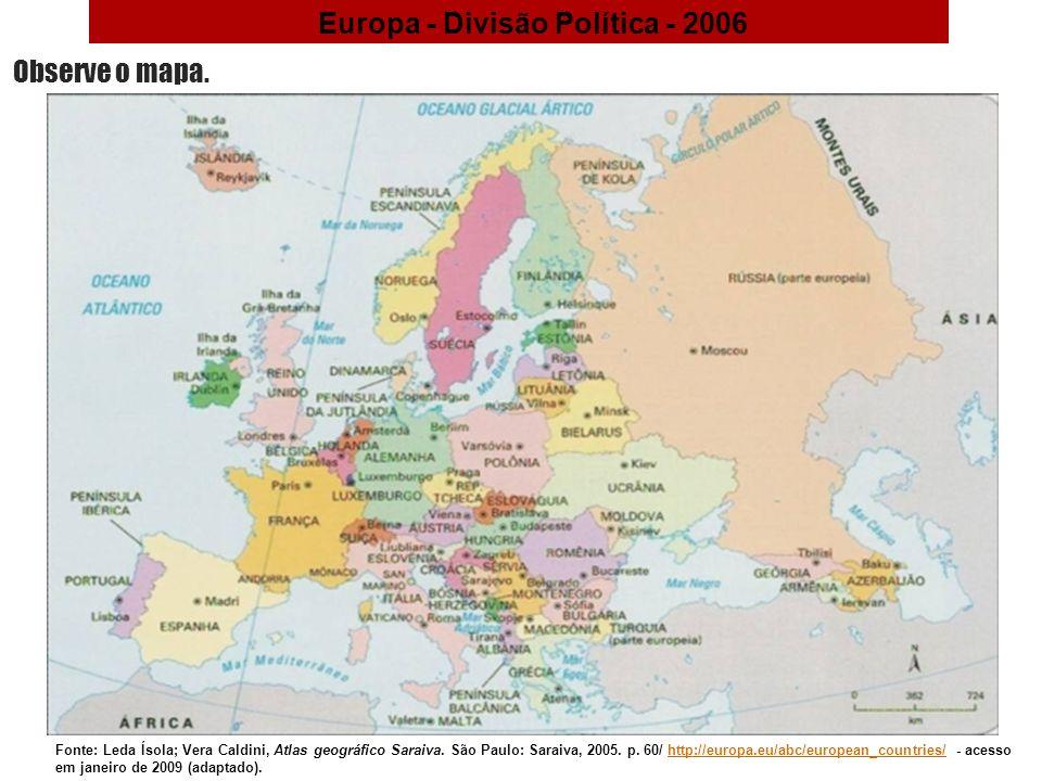 O continente europeu geografia 9 ano ppt video online carregar 2 europa diviso sciox Image collections