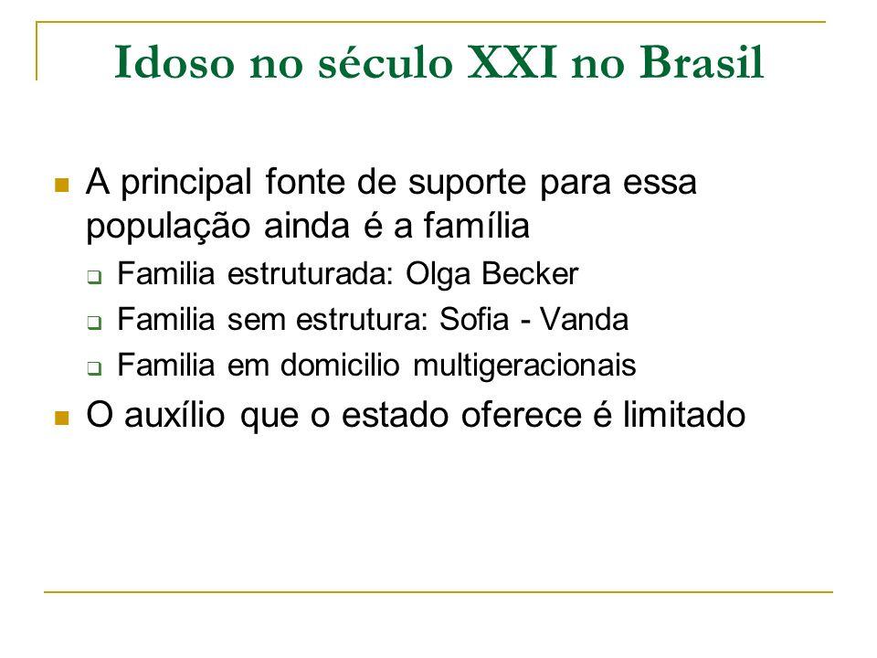 Idoso no século XXI no Brasil
