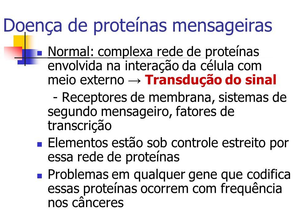 Doença de proteínas mensageiras