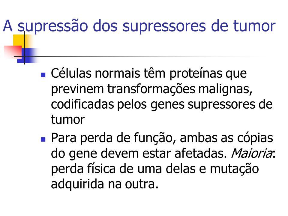 A supressão dos supressores de tumor