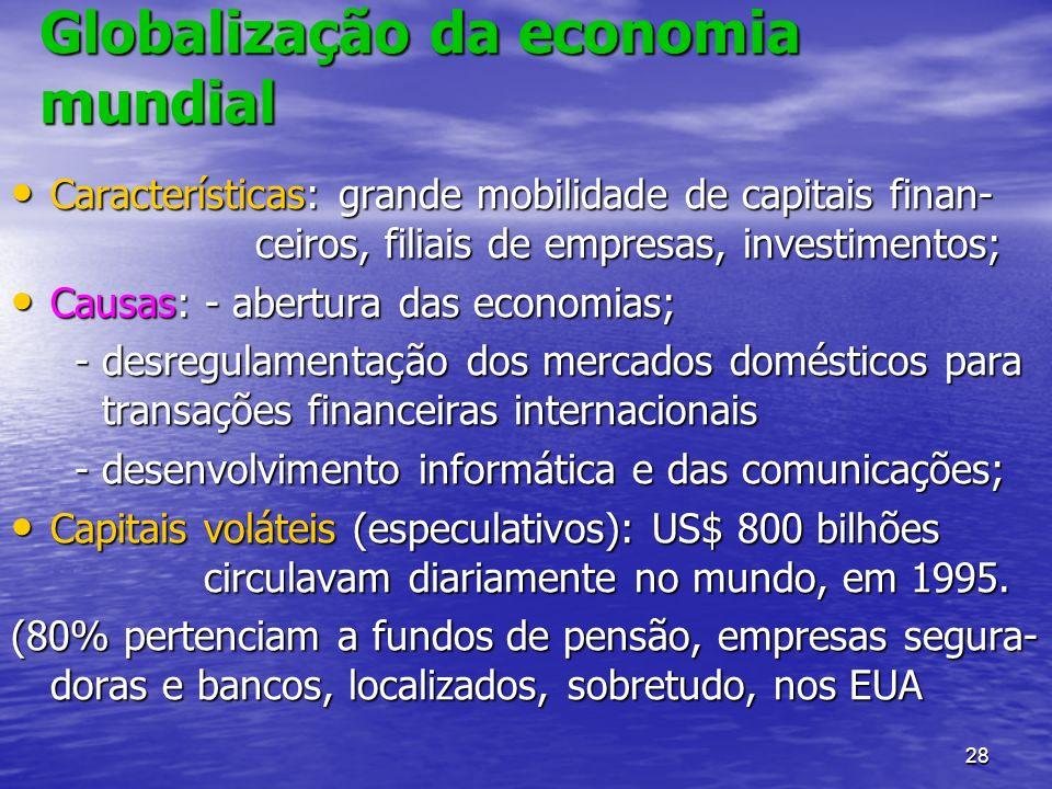 Globalização da economia mundial