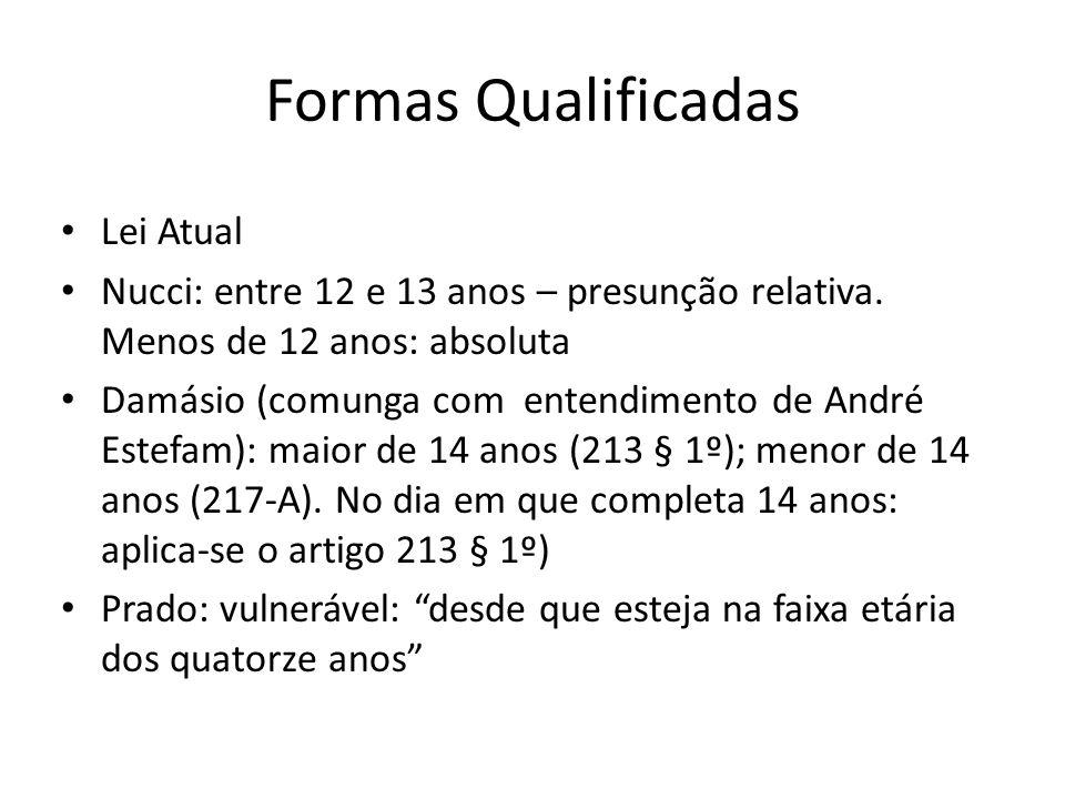 Formas Qualificadas Lei Atual