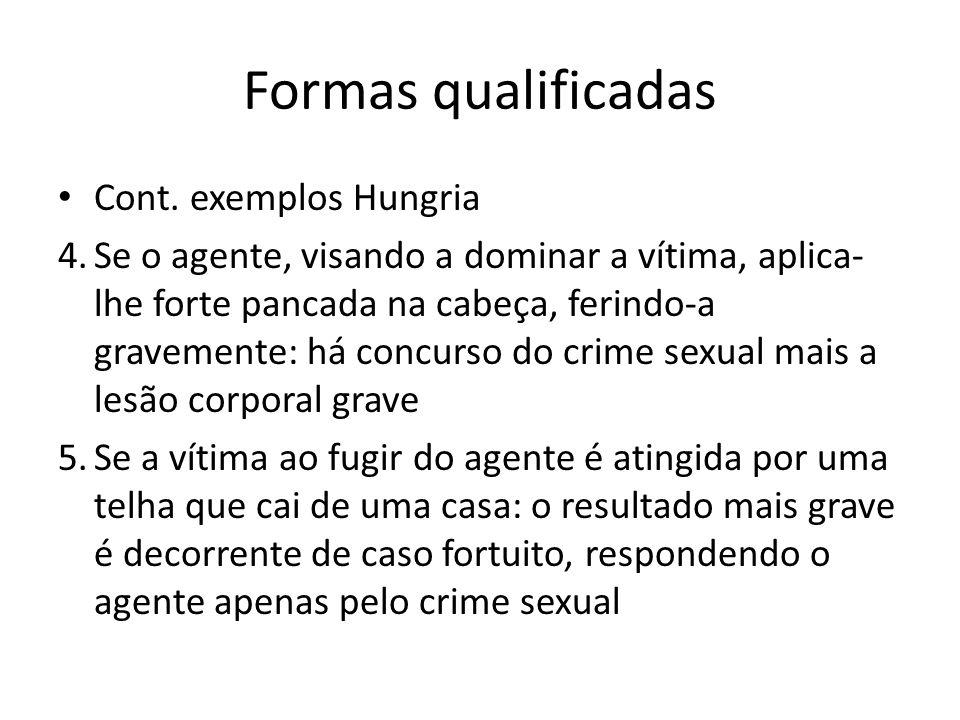 Formas qualificadas Cont. exemplos Hungria