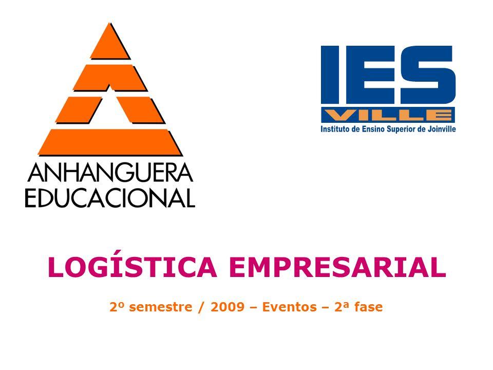 LOGÍSTICA EMPRESARIAL 2º semestre / 2009 – Eventos – 2ª fase