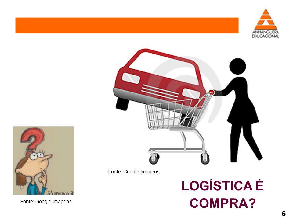 Fonte: Google Imagens LOGÍSTICA É COMPRA Fonte: Google Imagens 6