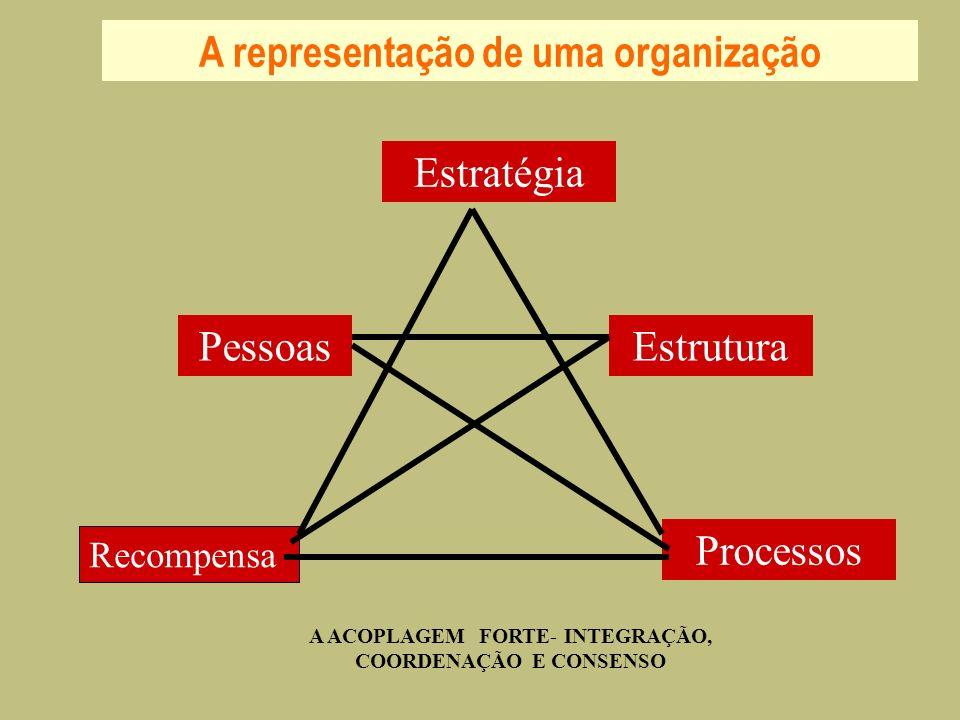 A representação de uma organização