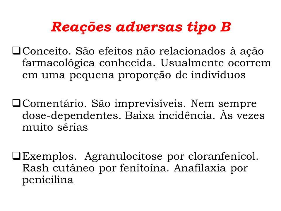 Reações adversas tipo B