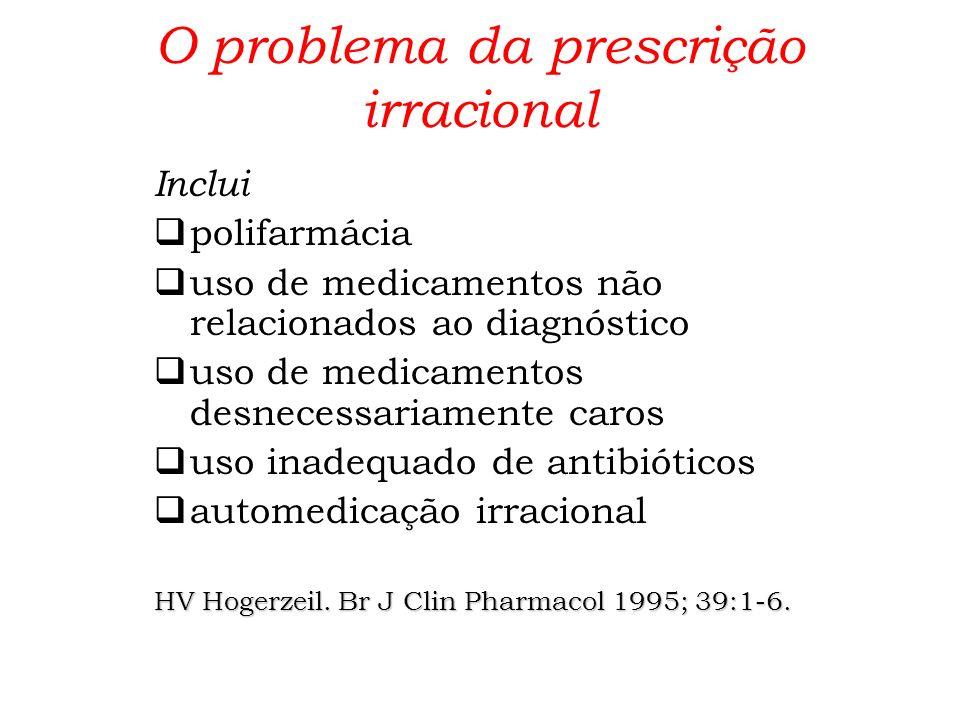 O problema da prescrição irracional