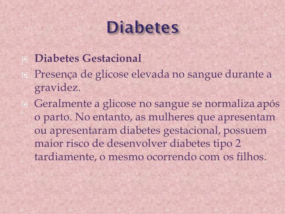 Diabetes Diabetes Gestacional