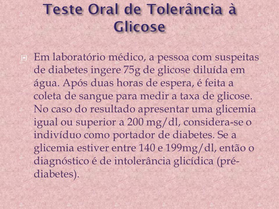 Teste Oral de Tolerância à Glicose